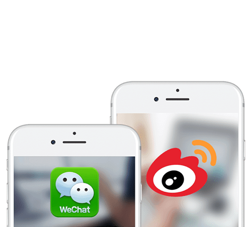 Wechat and Weibo China Marketing Dragon Social