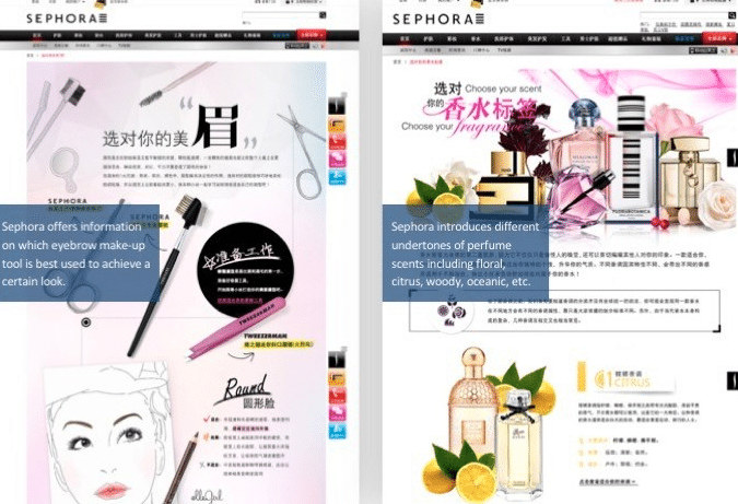 Sephoras Loyalty Program is a Great Example of Using WeChat For Business Source: Sephora's website