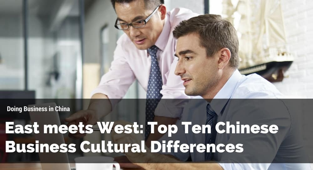 East Meets West, Chinese business cultural differences
