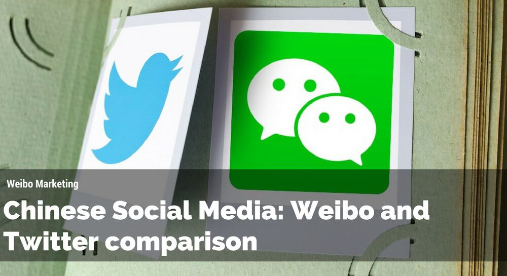 Chinese Social Media: Weibo and Twitter comparison
