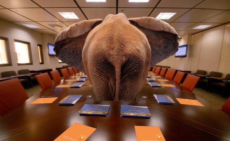 China is the elephant in the room