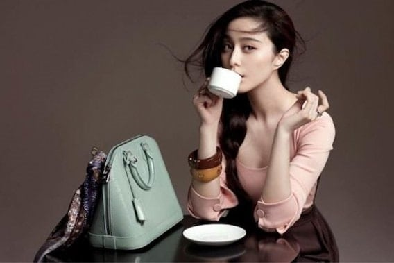 Fan Bing Bing, one of the biggest KOLs on the formerly super popular Meipai