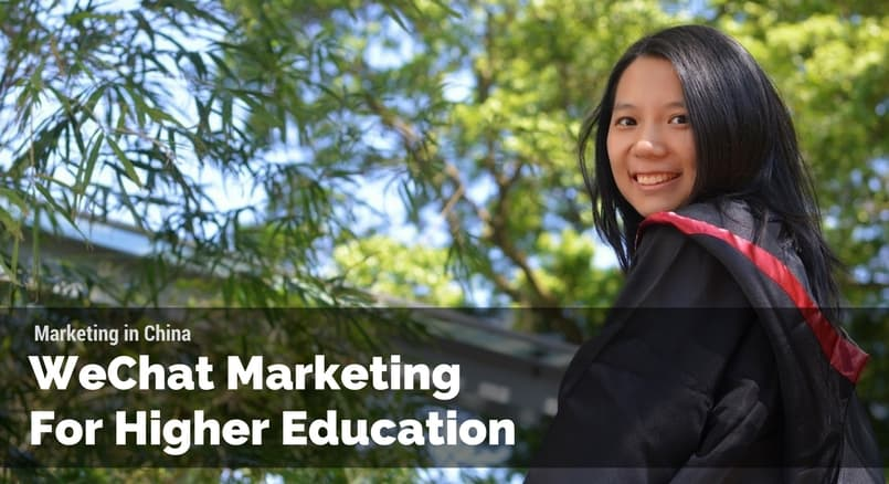 WeChat marketing for higher education