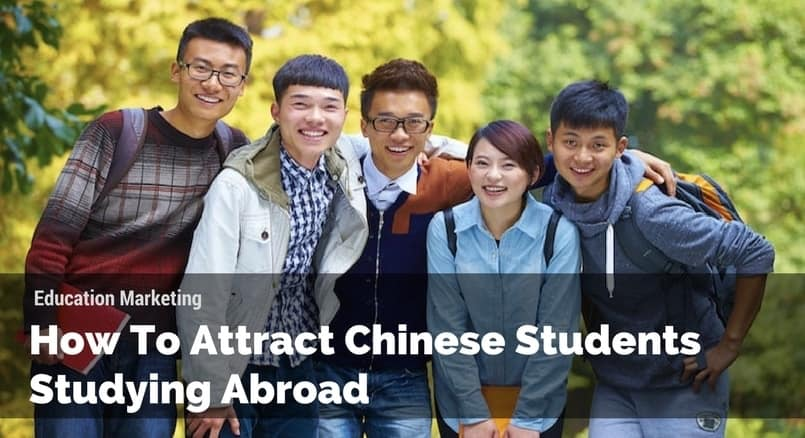 Attract Chinese Students Studying Abroad