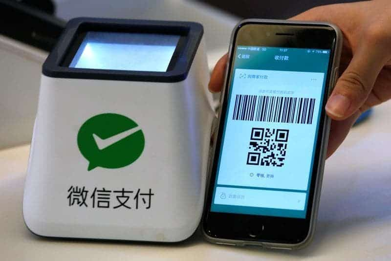 WeChat pay is an incredibly useful tool