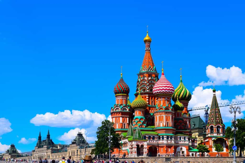 Moscow topped the charts as the most visited city during Golden Week.