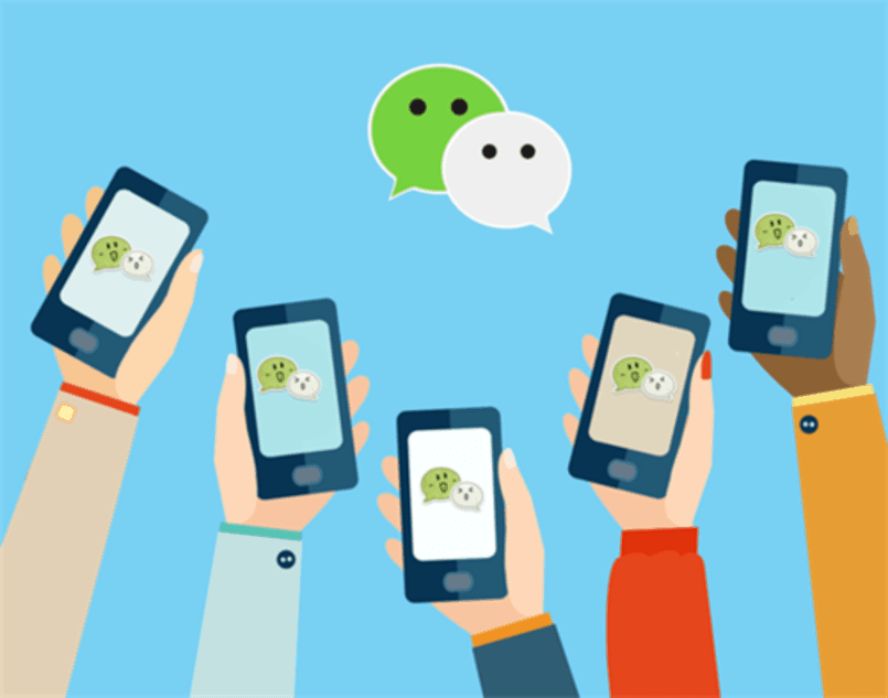 WeChat groups and QQ groups are popular online communities in China