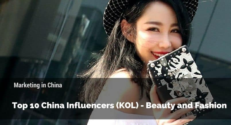 China KOL, China marketing, KOL marketing, China beauty and fashion KOL
