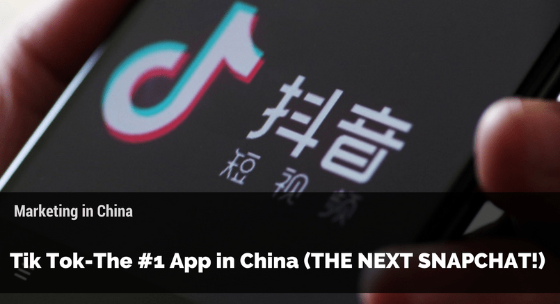 Tik Tok The  App In China The Next Snapchat