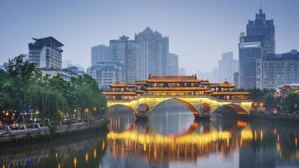 Chengdu: With a population of 16 million, the Capital of Sichuan Province experienced 70.66% GDP growth from 2011-2017
