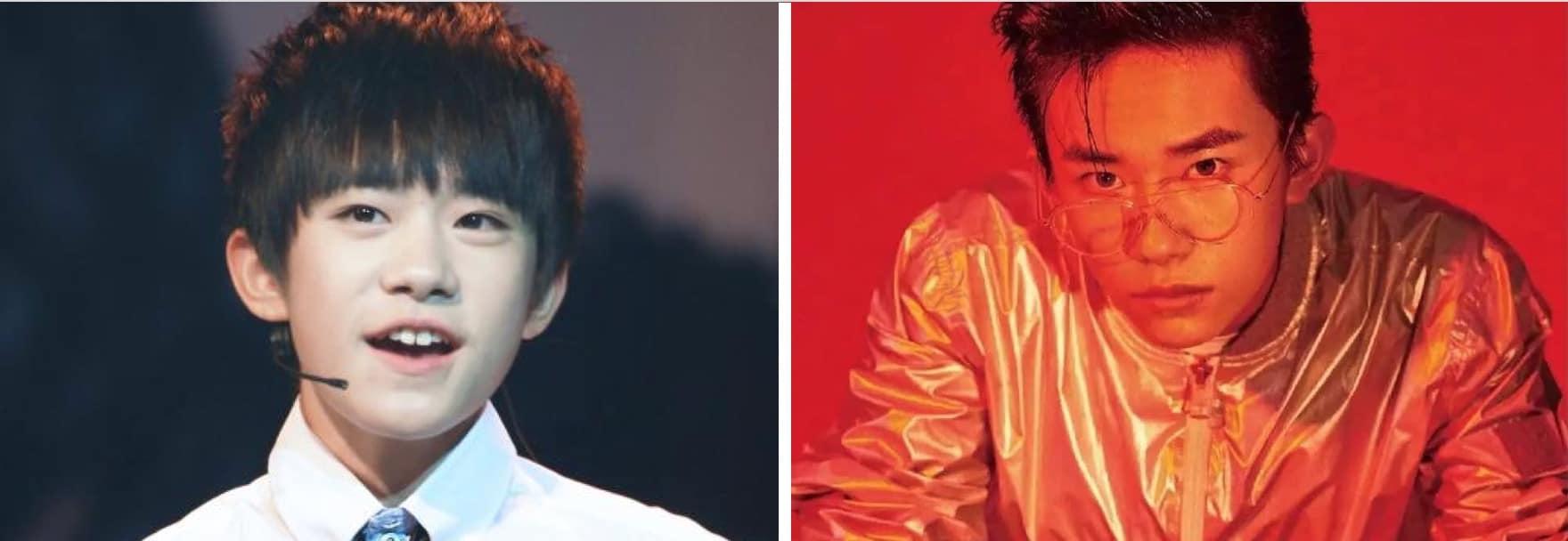 Jackson Yee, Yiyangqianxi, TFboys, Dragon Social