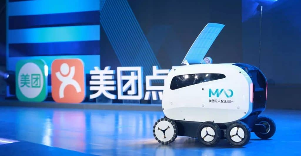 The Concept for Meituans Xiaodai Autonomous Delivery Vehicle